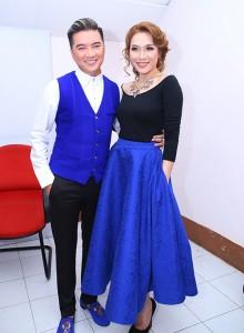 Mr. Đàm - Mỹ Tâm:  ton-sur-ton trong Giọng hát Việt