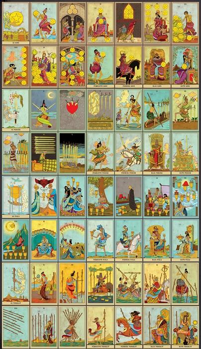 Học Bói Bài Tarot – Bộ 56 Lá Ẩn Phụ Trong Tarot