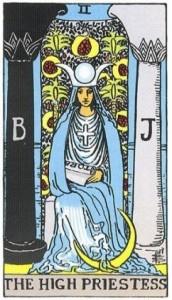 Học bói bài Tarot: Diễn giải lá bài số 2-The High Priestess