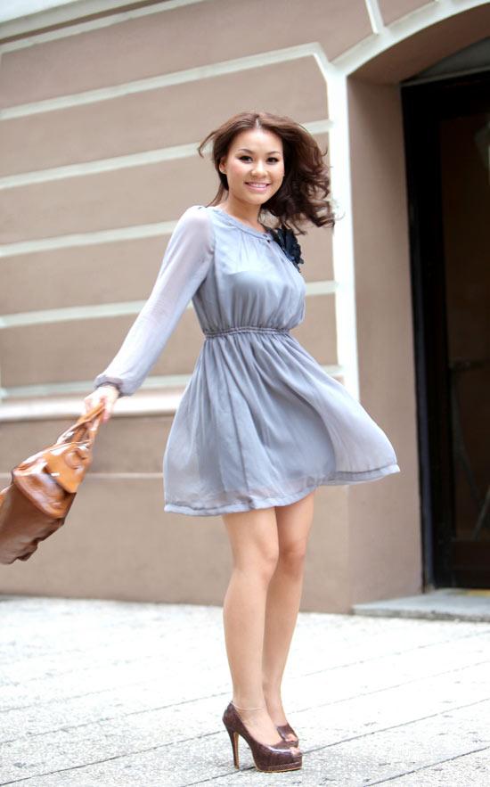 Trang phục mùa hè năng động cho teen nữ