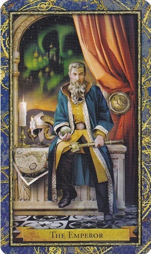 Boi bai Tarot: The Emperor với cung hoàng đạo Bạch Dương.