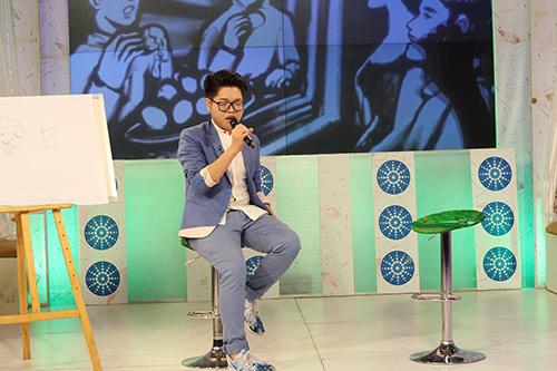 Đức Phúc hát tại chương trình Bữa trưa vui vẻ