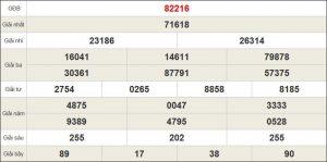 Tổng hợp kết quả cầu lô miền bắc ngày 14/11 chính xác