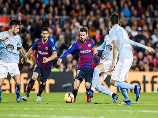 Dembele & Messi xây chắc ngôi đầu cho Barca
