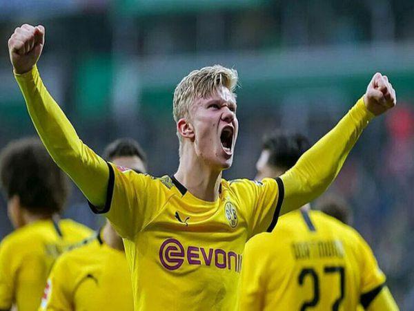 Haaland tự tin trước thềm siêu kinh điển với Bayern