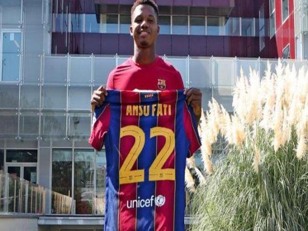 Tin bóng đá tối 24/9: Ansu Fati nhận số áo mới và điều khoản kỷ lục