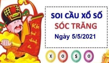 Soi cầu XSST ngày 5/5/2021