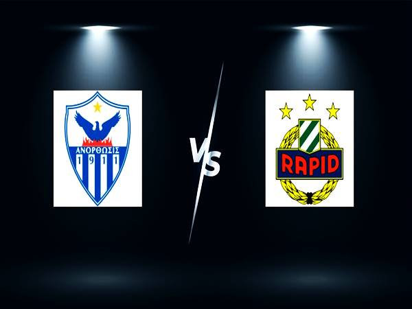 Soi kèo Anorthosis vs Rapid Wien 00h00 ngày 13/8 Cup C2