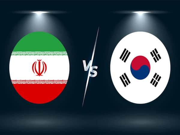 Soi kèo Iran vs Hàn Quốc 12/10